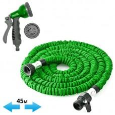Шланг для полива садовый X-hose Magic Hose зеленый 45 м