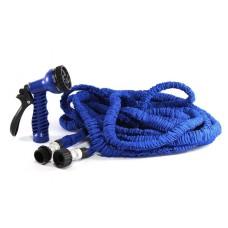 Шланг для полива садовый X-hose Magic Hose синий 75 м с насадкой
